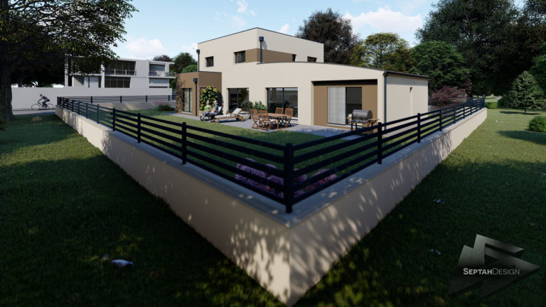 Plans 3D de maison